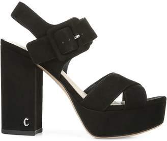 Sam Edelman Metallic Platform Sandals