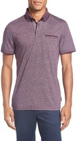 Ted Baker Men's Big & Tall Trim Fit Polo