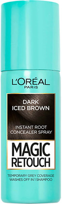 L'Oreal Magic Retouch Dark Iced Brown Root Concealer Spray Duo Pack