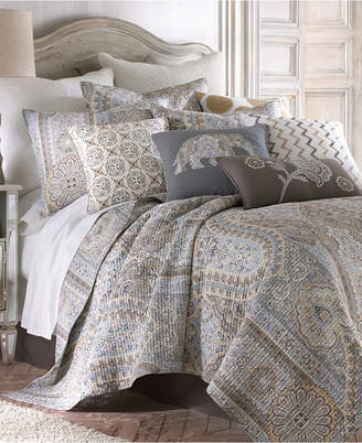 Levtex Home Casablanca Gray Twin Quilt Set
