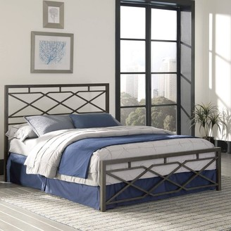Kotter Home Bronze Metal / Iron Bed