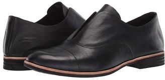 Kork-Ease Nottingham (Black Full Grain Leather) Women's Shoes