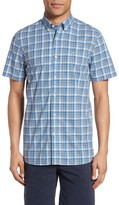Victorinox Men's Textured Check Sport Shirt