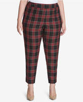 Tommy Hilfiger Plus Size Plaid Pants, Created for Macy's