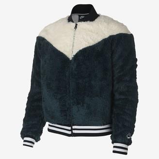 Nike Women's Sherpa Bomber Jacket Sportswear