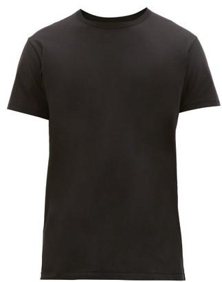 Rag & Bone Base Cotton T-shirt - Mens - Black