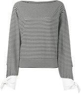 Chloé striped breton top - women - Cotton/Polyamide - S