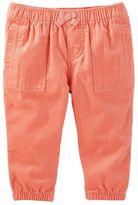 Osh Kosh Baby Girl Pull-On Corduroy Jogger Pants