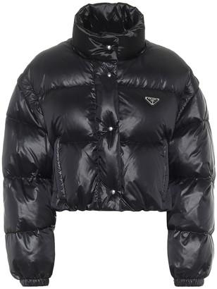 Prada Cropped down jacket