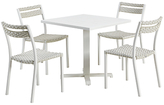 Ethimo Infinity 4-Seater Dining Square Table Set