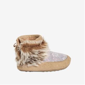 Joe Fresh Toddler Girls' Faux Fur Boots, Grey (Size M)