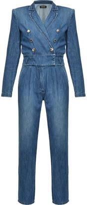 Pinko Double-Breasted Boiler Suit