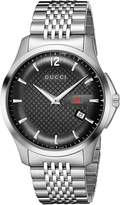 Gucci Men's G-Timeless YA126309 Silver Stainless-Steel Swiss Quartz Watch