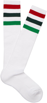 Gucci Striped-cuff ribbed cotton-blend socks