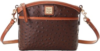 Dooney & Bourke Ostrich Domed Crossbody