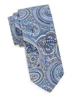 Eton Paisley Silk-Blend Tie