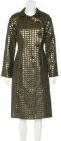 Lela Rose Metallic Tweed Coat w/ Tags