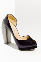 Open Toe d'Orsay Pump