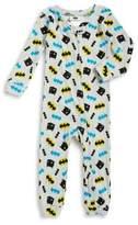 AME Sleepwear Little Boy's Batman Print Coverall Pajamas