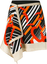 Carven printed mini skirt - women - Silk/Polyester/Acetate - 38