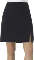 Shape Fx Black Gracie A-Line Skirt