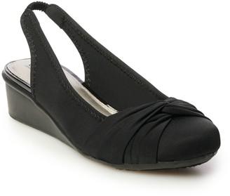 Croft & Barrow Octet Women's Slingback Wedge Sandals