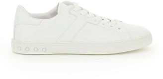 Tod's SPORT SNEAKERS SIDE MONOGRAM 10 White Leather