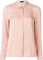 Alice + Olivia Alice+Olivia - pointed collar classic shirt - women - Silk/Spandex/Elastane - S