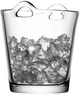 LSA International Clear Glass Bar Ice Bucket