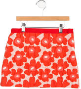 Milly Minis Girls' Floral Patterned Skirt