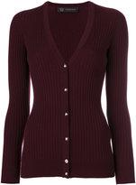 Versace stud Medusa cardigan - women - Polyester/Wool - 40