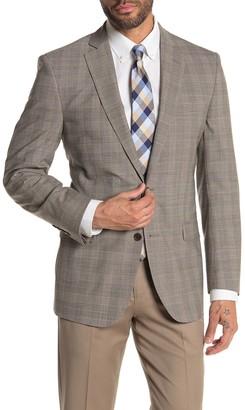 Brooks Brothers Beige Plaid Two Button Notch Lapel Regent Fit Suit Separates Jacket