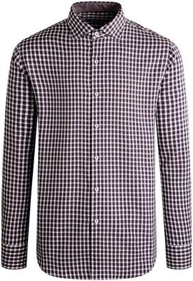 Bugatchi Men's Cotton Check Button-Down Shirt