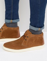 Red Tape Chukka Trainer In Tan