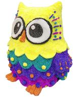 PopArt 3D Sculpture Owl