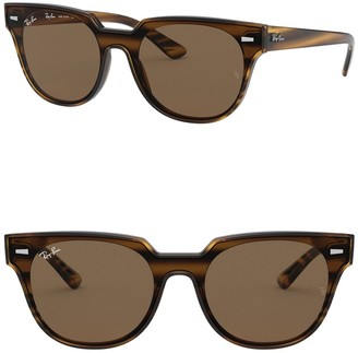 Ray-Ban 64mm Square Cat Eye Sunglasses