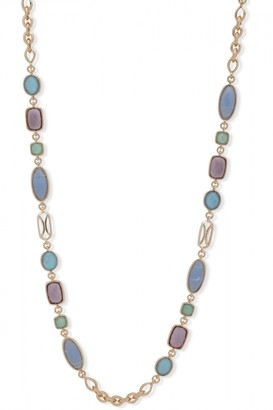 Anne Klein Ladies Jewellery Ilkwang Stretch Stone Multicolour Bracelet 60538310-Z01