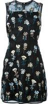 Markus Lupfer embroidered flower dress
