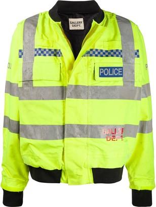 Gallery Dept. logo-print Police bomber jacket
