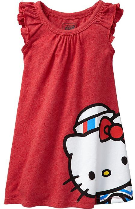 Hello Kitty Tee Dresses for Baby