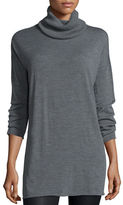Eileen Fisher Fisher Project Seamless Featherweight Turtleneck Tunic