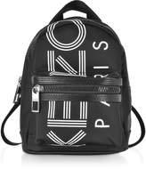 Kenzo Black Sport Mini Logo Backpack