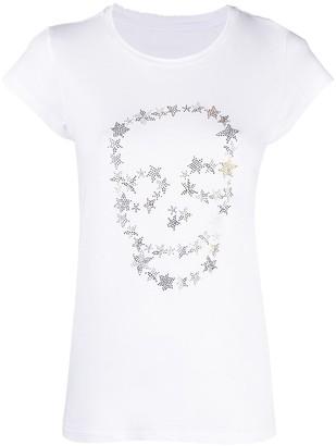 Zadig & Voltaire Stud-Embellished Short-Sleeved T-Shirt