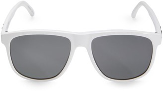 Saint Laurent 56MM Rectangular Injection Sunglasses