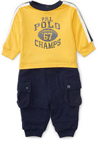 Ralph Lauren Cotton Tee & Jogger Set