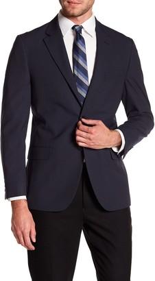 Nautica Pinstripe Woven Notch Collar Suit Separate Jacket