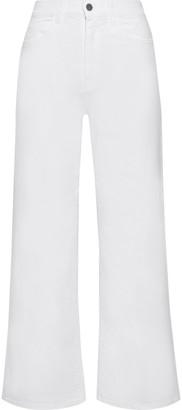 Iris & Ink Virginia High-rise Wide-leg Jeans