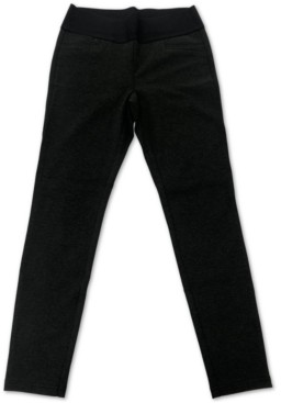 Style&Co. Style & Co Heathered Pull-On Pants, Created for Macy's