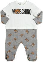 Moschino Teddy Bear Toy Cotton Fleece Romper