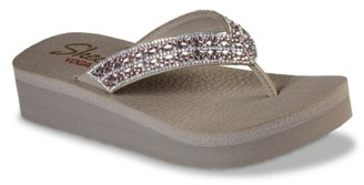 Skechers Cali Vinyasa Glory Day Wedge Sandal